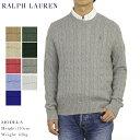 ポロ ラルフローレン コットンのクルーネックセーター POLO Ralph Lauren Men 039 s Cotton Cable Crew Sweater US 売れ筋 (UPS)