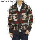 ポロ ラルフローレン ネイティブ柄 ショールカラー カーディガン POLO Ralph Lauren Men's Cotton Shawl Collar Cardigan US