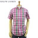 """Ralph Lauren S/S """"CLASSIC FIT"""" Madras B.D. Shirts US ポロ ラルフローレン マドラスチェック ボタンダウン ..."""