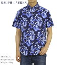 ポロ ラルフローレン 半袖 ボタンダウン オックスフォード アロハシャツ Polo Ralph Lauren Aloha Shirts US