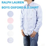 POLO by Ralph Lauren boy''s l/s B.D.Shirts Oxford ラルフローレン ボーイズ シャツ 無地 長袖オックスフォード