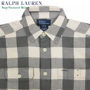 Ralph Lauren Boy's l/s Check Flannel Shirts ラルフローレン ボーイズ シャツ