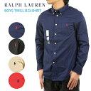 Ralph Lauren boy's l/s Twill B.D.Shirts ラルフローレン ボーイズ シャツ
