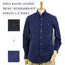 "Ralph Lauren ""STANDARD"" Poplin l / s B.D.Shirts US ポロ ラルフローレン 長袖 ブロード ボタンダウンシャツ (UPS)"