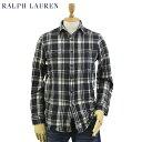 Ralph Lauren Men's Vintage Flannel Work Shirts US ポロ ラルフローレン ビンテージ フランネルチェック ワークシャツ 長袖シャツ