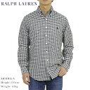 ポロ ラルフローレン オックスフォード ボタンダウン 長袖シャツ ギンガムチェック クラシックフィット POLO Ralph Lauren Men 039 s CLASSIC FIT Gingham Oxford B.D.Shirts US