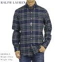 ポロ ラルフローレン スリムフィット ストレッチオックスフォード ボタンダウン 長袖シャツ Ralph Lauren Men 039 s SLIM FIT Stretch Oxford B.D.Shirts Multi Plaid US (ups)
