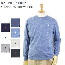 POLO Ralph Lauren Men's Crew l/s T-shirts US ポロ ラルフローレン メンズ ロングTシャツ