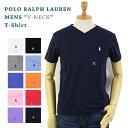 Ralph Lauren Men 039 s V-Neck T-shirts ラルフローレン メンズ 無地 Vネック Tシャツ ワンポイント
