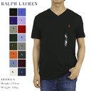 ポロ ラルフローレン メンズ 無地 Vネック Tシャツ ワンポイント POLO Ralph Lauren Men 039 s V-Neck T-shirts (UPS)