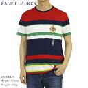 ポロ ラルフローレン エンブレム刺繍 ボーダー ポケット Tシャツ POLO Ralph Lauren Men 039 s T-shirts (UPS)
