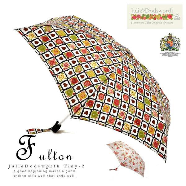 送料無料!FULTONフルトン英国王室御用達高級傘Tiny-2(ジュリードッズワース)【かさ 雨傘 梅雨 折りたたみ レイングッズ イングランド エリザベス女王 ロンドン 便利 強い 鳥かご MORRIS】【RCP】02P03Dec16【_包装】母の日   英国で愛されているレイングッズブランドFULTON(フルトン)。ギフトやプレゼントにも。