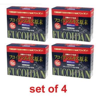 FUCOIDAN EXTRACT BULK POWDER (Granule) × 4 piece set