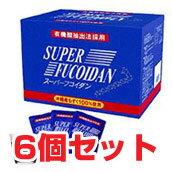 Super fucoidan (100 ml x 30 bags, retort extract type) × 6 pieces set mozuku processed foods