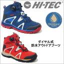 【送料無料】 HI-TEC ハイテック トレッキング ブーツ アウトドア シューズ メンズ 登山靴 ハイキング 防水 ダイアル 3E ハイカット tmhttrm723