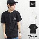 HUF ハフ Tシャツ 半袖 メンズ Beaded Triple Triangle Tee 大きいサイズ ストリート [TS00184] 【あす楽対応】