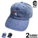 【予約商品】 (ハオミン) HAOMING Abdullah The Butcher ×HMG CAP [ab19-05] ローキャップ 6パネル キャップ 帽子 アブドーラ・ザ・ブッチャー プロレス 国内正規品