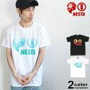 【ネスタ tシャツ】 NESTA BRAND ネスタブランド Tシャツ 半袖 ベーシックロゴ グラデーション メンズ 大きいサイズ M-2XL 182NB1000 【あす楽対応】