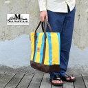 ショッピングLimited SEIL MARSCHALL(サイル マーシャル)/ Vintage1960's Canvas Beach Tote Bag -(00)MULTI LIMITED EDITION-