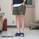 DESCENTE(デサント)/ 6 POCKETS ZIP SHORT PANTS -DOLV- DLMLJG81S