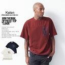 20%OFF SALE KELEN ケレン MINI THERMAL ZIP POCKET TOP Elinor Tシャツ メンズ kl19ss セール