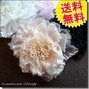 送料無料 ふわふわ コサージュ 結婚式 フォーマル 子供 上品 紫 ママ 花 結婚式 お呼ばれ バラ 黒 髪飾り 入学式 corsage 02P05Nov16