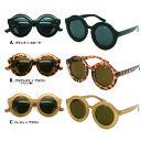 丸サングラス F2872 丸メガネ 丸眼鏡 レトロ ラウンド オーバルメンズ レディース UVカット 今年大流行のレトロ サングラスウェイファーラー ウェリントン 好きにも オススメ