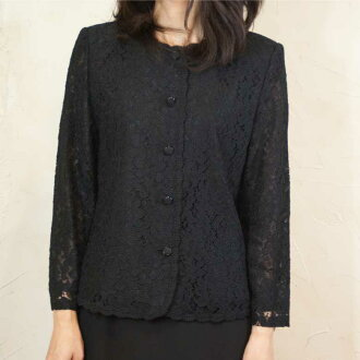 8016 fs3gm in summer made in black formal rale race blouse Japan