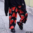 イチゴワイドパンツ | パンク ロック ファッション V系 ...