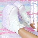 タレプラットフォームシューズ 厚底 ブーツ スニーカー 靴 ...