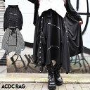 【1/26(金)再販】3wayスカート パンク スカート ロック ファッション ゴシック モード V