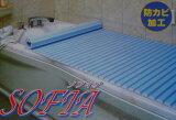 シャッター風呂フタ(75cm×120cm)すべりにくく安全な風呂ふたです。