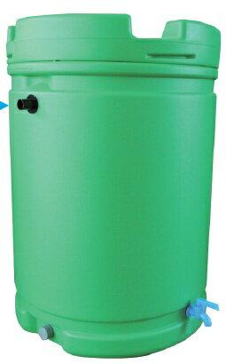 雨水タンク 185L 緑【送料無料】【個人宅への配達はできません。】 お気に入り