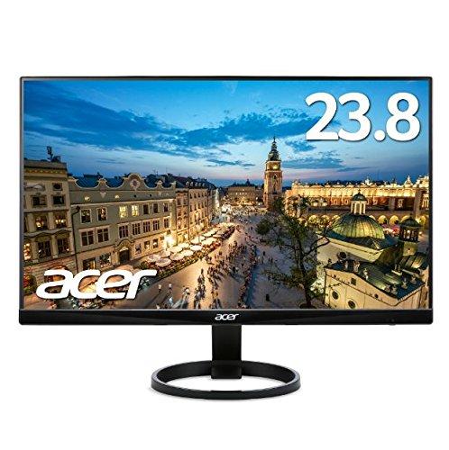 【新品・送料無料!ディスプレイ!】Acer エイサー パソコン(PC)用液晶モニター R240HYAbmidx 23.8インチ VA フレームレス フルHD 4ms HDMI端子 ステレオスピーカー PCモニター
