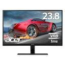【ゲーミングモニター!】Acer エイサー RG240Ybmiix 23.8インチ/IPS/フレームレス/非光沢/1920x1080/フルHD/16:9/250cd/1ms/ブラック/HDMI1.4×2/ミニD-Sub 15ピン(PS4などのゲームに!)