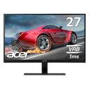 【メーカー直販だから安心!】Acer RG270bmiix 27インチ IPS 非光沢 フレームレス 1920x1080 フルHD 16:9 250cd 1ms HDMI1.4×2 ミニD-S..