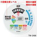 防雨型 TM-2486W エンペックス 環境管理 温・湿度計「熱中症注意」大型タイプ EMPEX