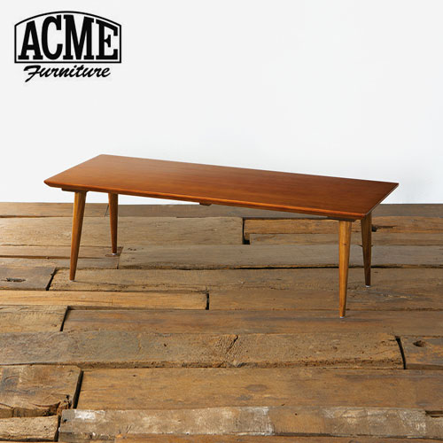 ACME Furniture CARDIFF COFFEE TABLE WALNUT 123.5cm【2個口】 カーディフ コーヒーテーブル【送料無料】【ポイント10倍】【S2】