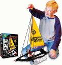 【通常便なら送料無料】【贈ってよろこばれる世界の一流ブランドのおもちゃと教材玩具】ヨット 206ピースセット 知育玩具 / Sailboat - 206 Piece Uberstix Set【smtb-u】