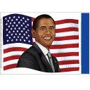 【通常便なら送料無料】オバマ大統領 ステッカー コスプレグッズ【RCPapr28】