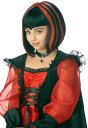 玩具, 興趣, 遊戲 - バンパイア ドラキュラ 吸血鬼 子供用 女の子用 ブラック・レッド ウィッグ