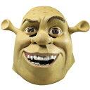 【通常便なら送料無料】シュレック、洋画、 ハロウィーン コスプレ マスク 衣装 パーティー 結婚式 2次会 演出/ Shrek Deluxe Mask 3983