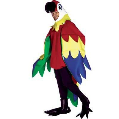 インコ オウムハロウィン・コスチューム鳥のコスプレ衣装 着ぐるみ 大人用コスチューム パーティー 結婚式二次会 演出 年賀状