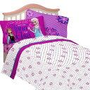 アナと雪の女王 グッズ ツインベッドのベッドシーツカバー&枕カバーセット Frozen ディズニー ピンク【stamprally_0416】