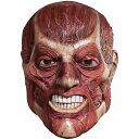 ホラー マスク ゾンビ 進撃の巨人 スキナーマスク 皮を剥がれた顔 大人用コスプレ マスク かぶりもの ホラーマスク お化け屋敷 グッズ アクセサリー