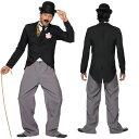 ハロウィン チャールズ チャップリン なりきり コスチューム 衣装 仮装 コスプレ コメディアン