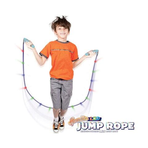 縄跳び ジャンプロープ LEDライト付き おもちゃ 遊具 スポーツグッズ アウトドア ギフト プレゼント
