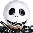 映画 ナイトメア・ビフォア・クリスマス 公式 ジャック・スケリントン 大人用 マスク ディズニー キャラクター コスプレ 変装 仮装 グッズ 0707bonus_coupon