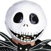 映画 ナイトメア・ビフォア・クリスマス 公式 ジャック・スケリントン 大人用 マスク ディズニー キャラクター コスプレ 変装 仮装 グッズ
