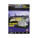 ホワイトハウス 3D パズル 模型 LED 光る ライトアップ インテリア デコレーション